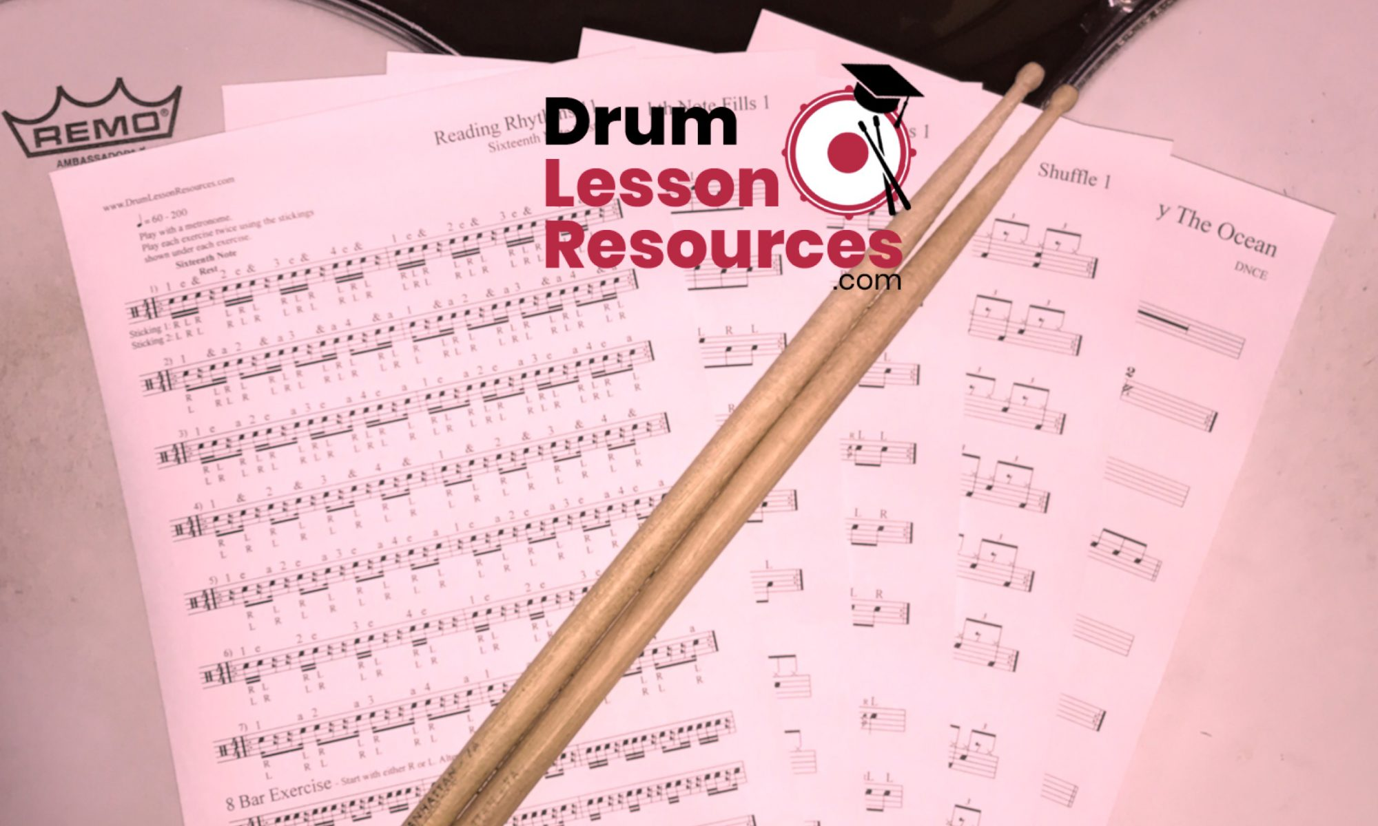 Drum Lesson Resources